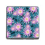 Whimsical Garden Memory Card Reader (Square) Front