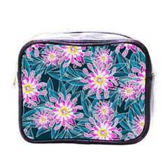 Whimsical Garden Mini Toiletries Bags