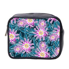Whimsical Garden Mini Toiletries Bag 2-Side