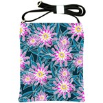Whimsical Garden Shoulder Sling Bags Front
