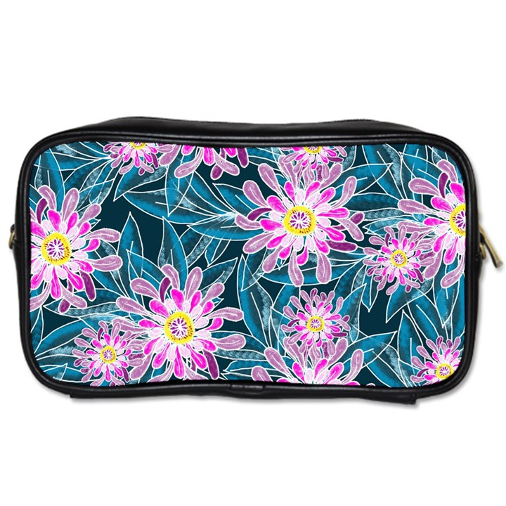 Whimsical Garden Toiletries Bags 2-Side