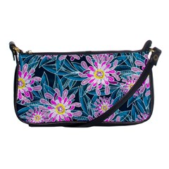 Whimsical Garden Shoulder Clutch Bags