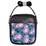 Whimsical Garden Girls Sling Bags Front