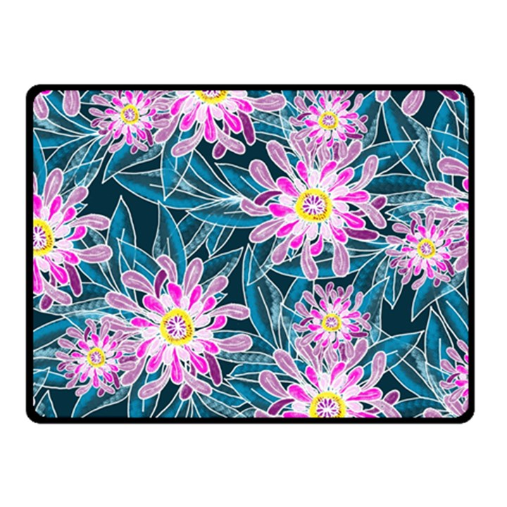 Whimsical Garden Fleece Blanket (Small)