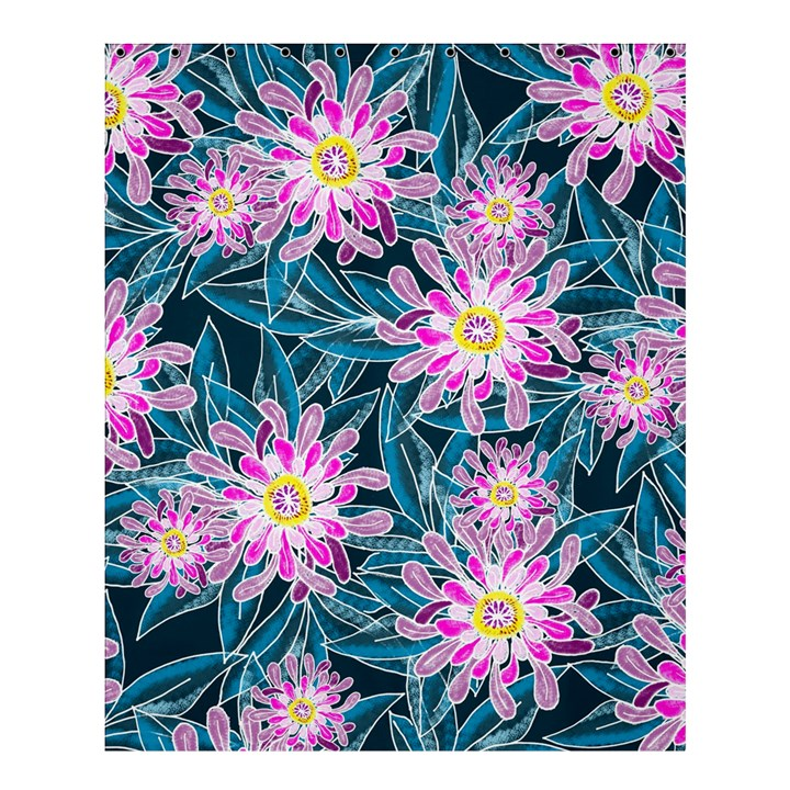Whimsical Garden Shower Curtain 60  x 72  (Medium)