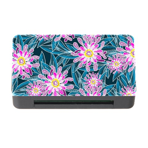 Whimsical Garden Memory Card Reader with CF