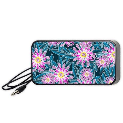 Whimsical Garden Portable Speaker (Black)