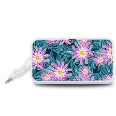 Whimsical Garden Portable Speaker (White)