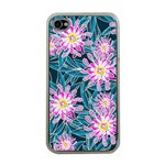 Whimsical Garden Apple iPhone 4 Case (Clear) Front