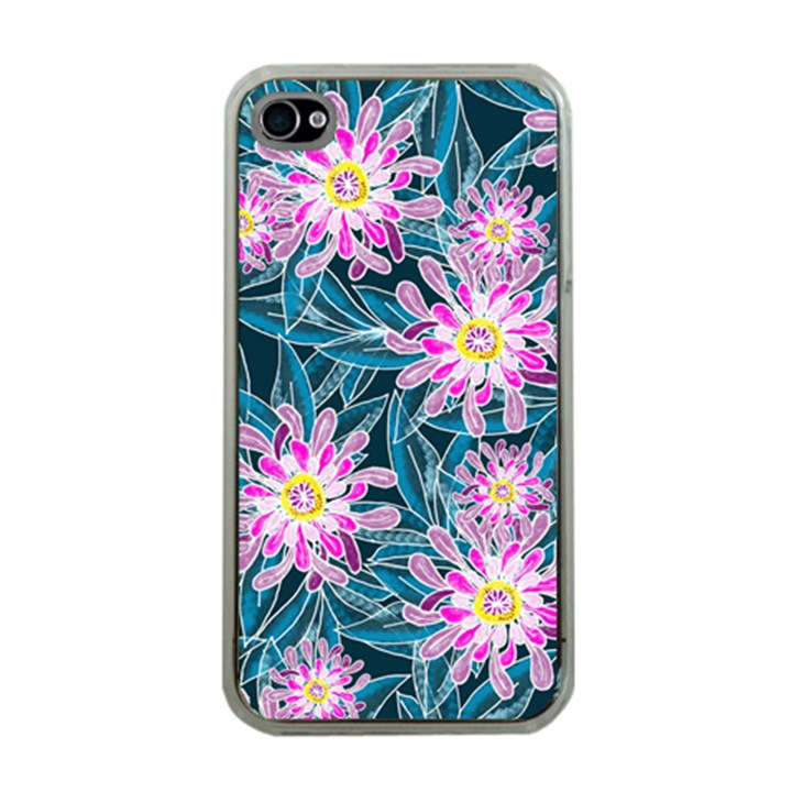 Whimsical Garden Apple iPhone 4 Case (Clear)