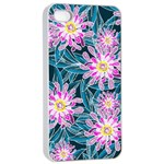 Whimsical Garden Apple iPhone 4/4s Seamless Case (White) Front