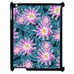 Whimsical Garden Apple iPad 2 Case (Black) Front