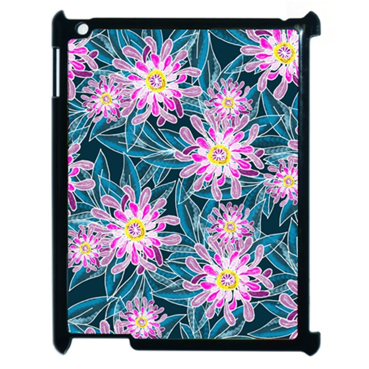Whimsical Garden Apple iPad 2 Case (Black)