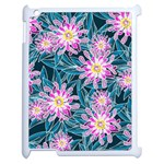 Whimsical Garden Apple iPad 2 Case (White) Front