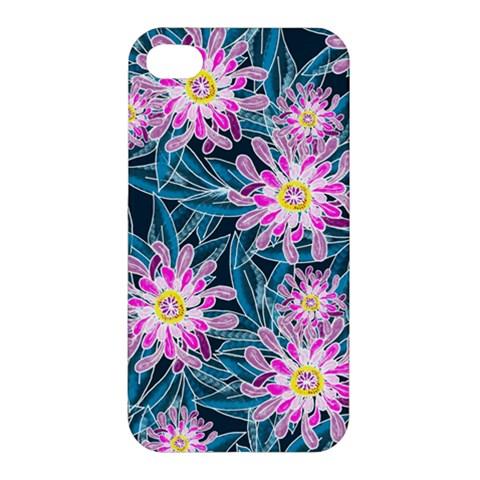 Whimsical Garden Apple iPhone 4/4S Hardshell Case
