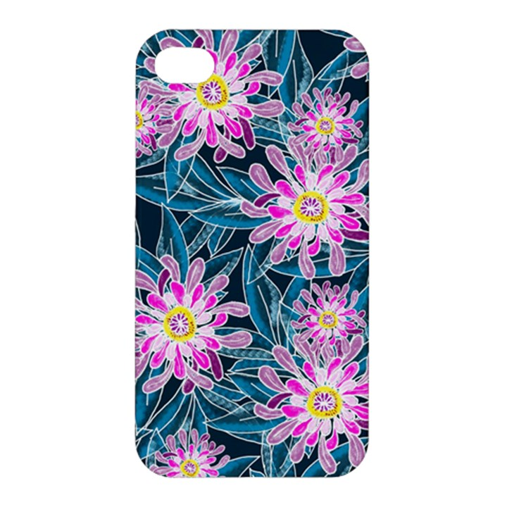 Whimsical Garden Apple iPhone 4/4S Hardshell Case