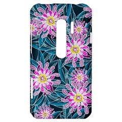 Whimsical Garden HTC Evo 3D Hardshell Case