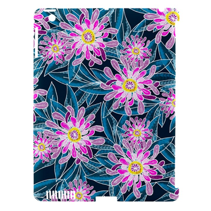 Whimsical Garden Apple iPad 3/4 Hardshell Case (Compatible with Smart Cover)