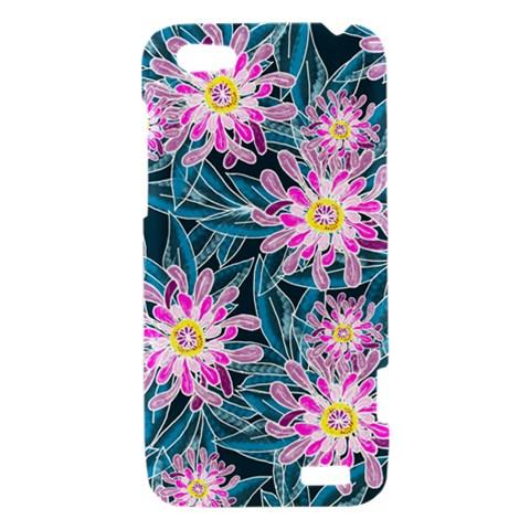 Whimsical Garden HTC One V Hardshell Case