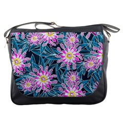 Whimsical Garden Messenger Bags