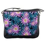 Whimsical Garden Messenger Bags Front
