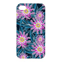 Whimsical Garden Apple iPhone 4/4S Premium Hardshell Case