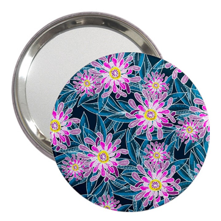 Whimsical Garden 3  Handbag Mirrors