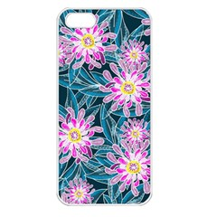 Whimsical Garden Apple Iphone 5 Seamless Case (white)