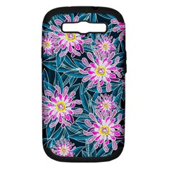 Whimsical Garden Samsung Galaxy S Iii Hardshell Case (pc+silicone)