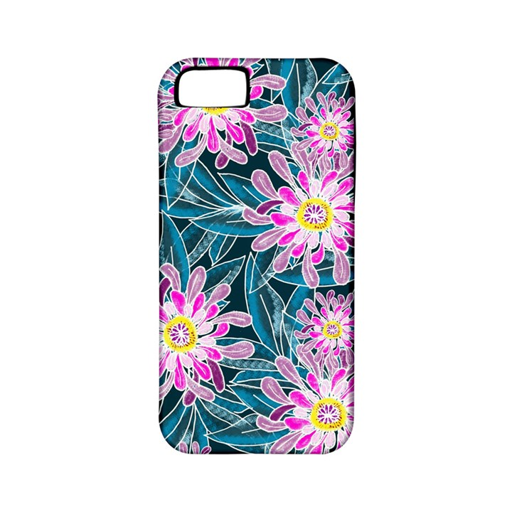 Whimsical Garden Apple iPhone 5 Classic Hardshell Case (PC+Silicone)