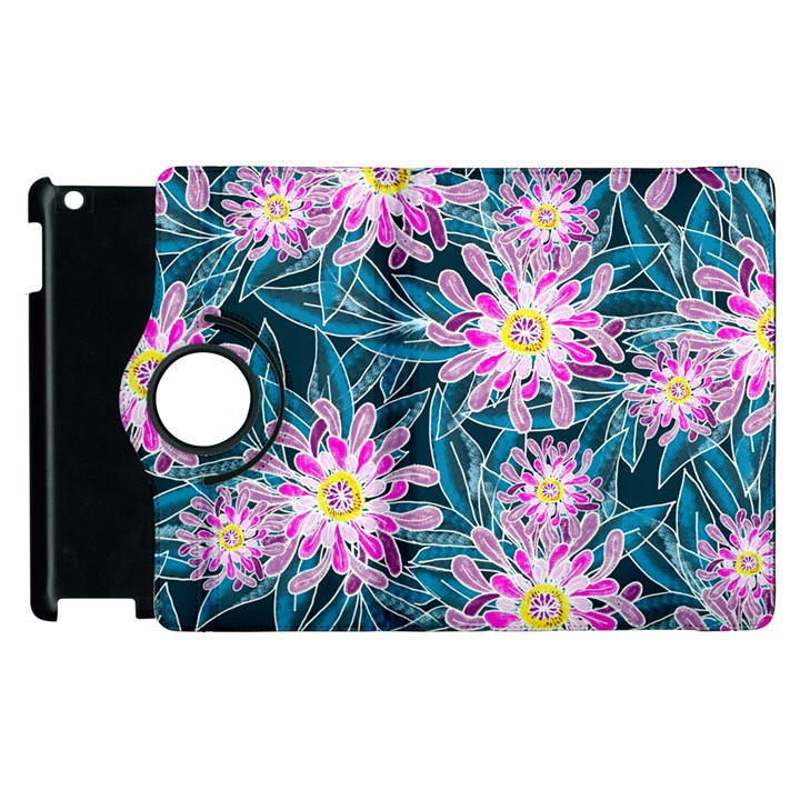 Whimsical Garden Apple iPad 2 Flip 360 Case