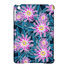 Whimsical Garden Apple iPad Mini Hardshell Case (Compatible with Smart Cover)