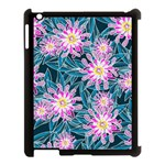 Whimsical Garden Apple iPad 3/4 Case (Black) Front