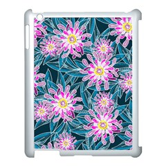 Whimsical Garden Apple iPad 3/4 Case (White)
