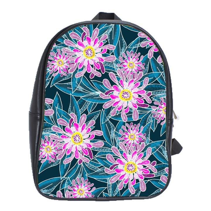 Whimsical Garden School Bags (XL)