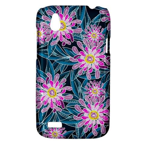 Whimsical Garden HTC Desire V (T328W) Hardshell Case