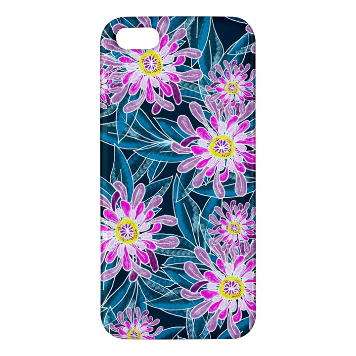 Whimsical Garden Apple iPhone 5 Premium Hardshell Case