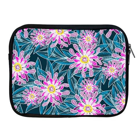 Whimsical Garden Apple iPad 2/3/4 Zipper Cases