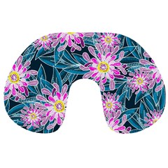 Whimsical Garden Travel Neck Pillows