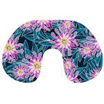 Whimsical Garden Travel Neck Pillows Back
