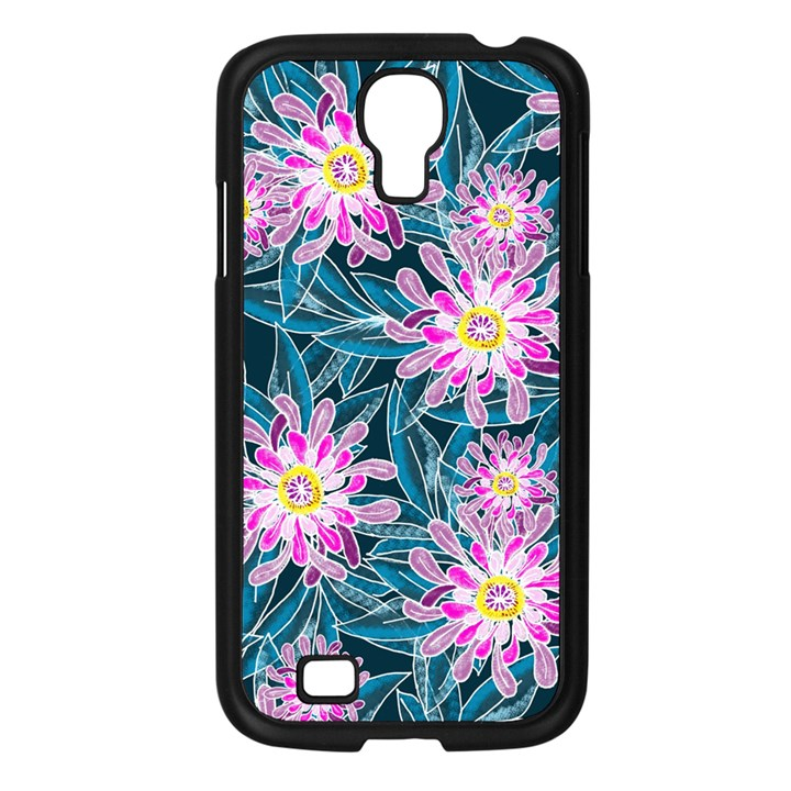 Whimsical Garden Samsung Galaxy S4 I9500/ I9505 Case (Black)