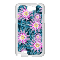 Whimsical Garden Samsung Galaxy Note 2 Case (White)