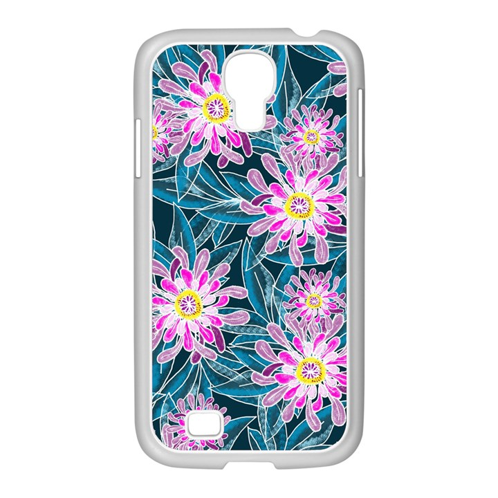 Whimsical Garden Samsung GALAXY S4 I9500/ I9505 Case (White)