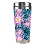 Whimsical Garden Stainless Steel Travel Tumblers Right