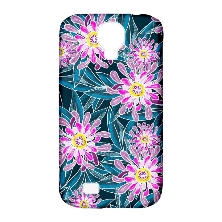 Whimsical Garden Samsung Galaxy S4 Classic Hardshell Case (PC+Silicone)
