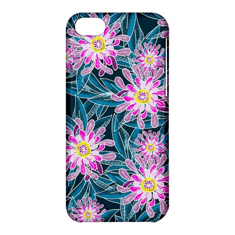 Whimsical Garden Apple iPhone 5C Hardshell Case