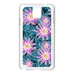 Whimsical Garden Samsung Galaxy Note 3 N9005 Case (White) Front