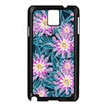 Whimsical Garden Samsung Galaxy Note 3 N9005 Case (Black) Front