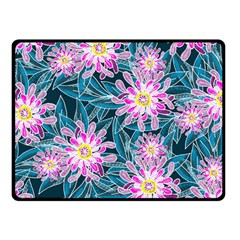 Whimsical Garden Double Sided Fleece Blanket (Small)
