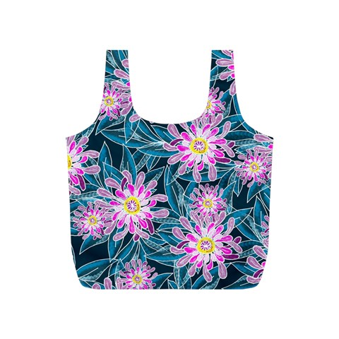 Whimsical Garden Full Print Recycle Bags (S)